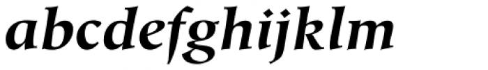 Hiroshige Std Bold Italic Font LOWERCASE