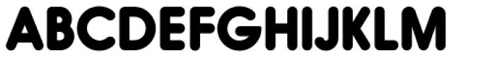 Hiruko Black Font UPPERCASE