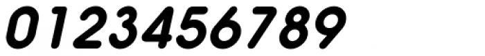 Hiruko Oblique Font OTHER CHARS