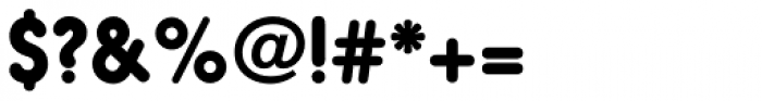 Hiruko Pro Bold Alternate Font OTHER CHARS