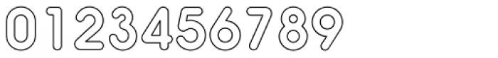 Hiruko Pro Outline Alternate Font OTHER CHARS
