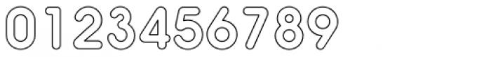 Hiruko Regular Outline Font OTHER CHARS