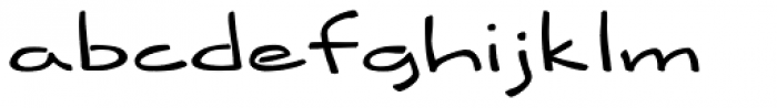 History Font LOWERCASE