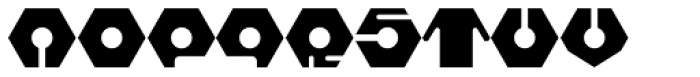 Hive Mind Font UPPERCASE