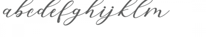 Hiters Font LOWERCASE