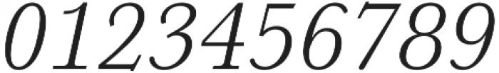 HK Carta Light Italic otf (300) Font OTHER CHARS