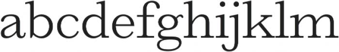 HK Carta Light otf (300) Font LOWERCASE