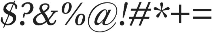 HK Carta Medium Italic otf (500) Font OTHER CHARS