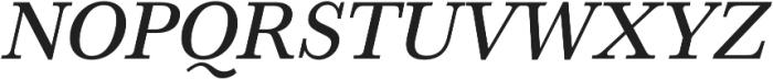 HK Carta Medium Italic otf (500) Font UPPERCASE