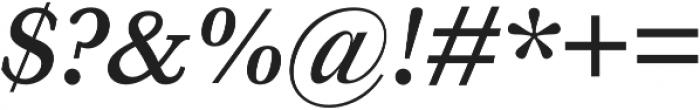 HK Carta SemiBold Italic otf (600) Font OTHER CHARS