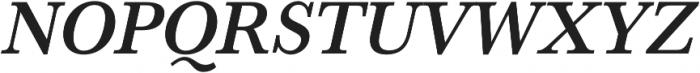HK Carta SemiBold Italic otf (600) Font UPPERCASE