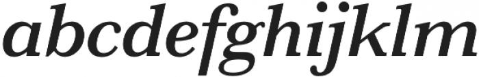 HK Carta SemiBold Italic otf (600) Font LOWERCASE