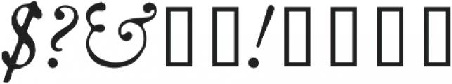 HK Caslon otf (400) Font OTHER CHARS