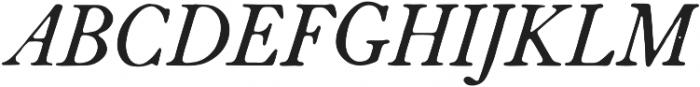 HK Caslon otf (400) Font UPPERCASE