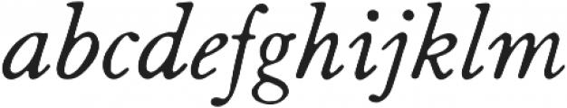 HK Caslon otf (400) Font LOWERCASE