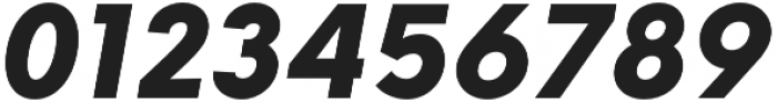 HK Explorer Black Italic otf (900) Font OTHER CHARS