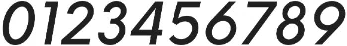 HK Explorer Medium Italic otf (500) Font OTHER CHARS