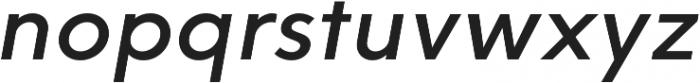 HK Explorer Medium Italic otf (500) Font LOWERCASE