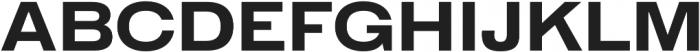 HK Gothic ExtraBold otf (700) Font UPPERCASE
