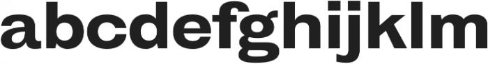 HK Gothic ExtraBold otf (700) Font LOWERCASE
