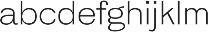 HK Gothic Light otf (300) Font LOWERCASE