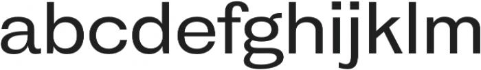 HK Gothic Medium otf (500) Font LOWERCASE