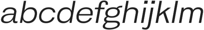 HK Gothic otf (400) Font LOWERCASE