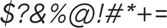 HK Grotesk Pro Book Italic Legacy otf (400) Font OTHER CHARS