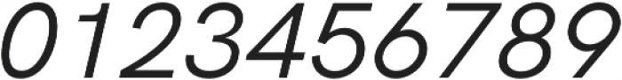 HK Grotesk Pro Book Italic otf (400) Font OTHER CHARS