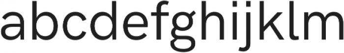 HK Grotesk Pro Book Legacy otf (400) Font LOWERCASE