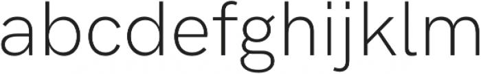 HK Grotesk Pro Light Legacy otf (300) Font LOWERCASE