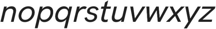 HK Grotesk Pro Medium Italic Legacy otf (500) Font LOWERCASE