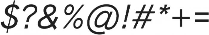 HK Grotesk Pro Medium Italic otf (500) Font OTHER CHARS