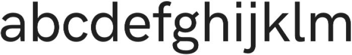 HK Grotesk Pro Medium Legacy otf (500) Font LOWERCASE