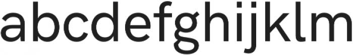 HK Grotesk Pro Medium otf (500) Font LOWERCASE