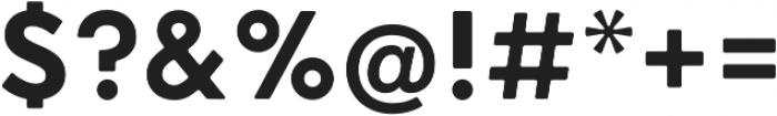 HK Nova ExtraBold R otf (700) Font OTHER CHARS