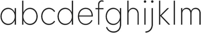 HK Nova ExtraLight Narrow otf (200) Font LOWERCASE