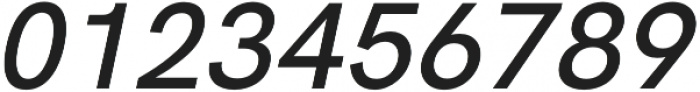 HK Super Medium Italic otf (500) Font OTHER CHARS