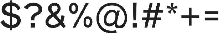HK Super Medium otf (500) Font OTHER CHARS
