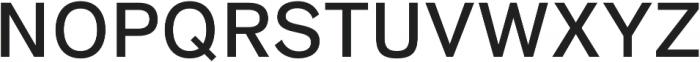 HK Super Medium otf (500) Font UPPERCASE