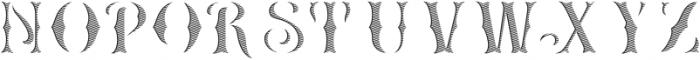HKF_Brooks insert ttf (400) Font UPPERCASE