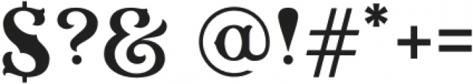 HKF_Brooks regular otf (400) Font OTHER CHARS