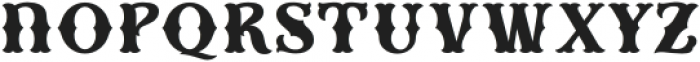 HKF_Brooks regular otf (400) Font LOWERCASE
