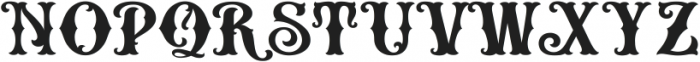 HKF_Brooks regular ttf (400) Font UPPERCASE