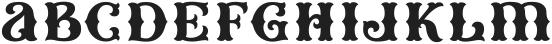 HKF_Brooks regular ttf (400) Font LOWERCASE