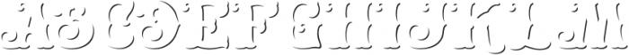 HKF_Brooks shadow otf (400) Font UPPERCASE