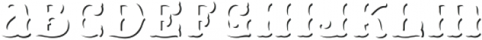 HKF_Brooks shadow ttf (400) Font LOWERCASE