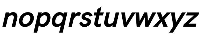 HK Grotesk Bold Legacy Italic Font LOWERCASE
