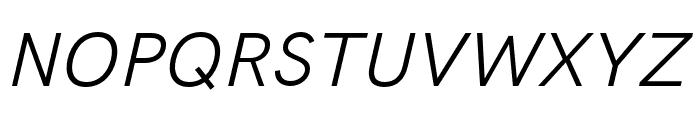 HK Grotesk Legacy Italic Font UPPERCASE