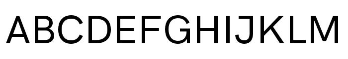 HK Grotesk Medium Font UPPERCASE